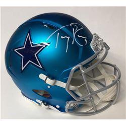 Tony Romo Signed Cowboys Authentic On-Field Full-Size Blaze Helmet (JSA COA)