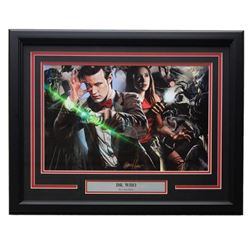 "Greg Horn Signed ""Doctor Who"" 19x23 Custom Framed Photo Display (SI COA)"
