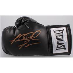Riddick Bowe Signed Everlast Boxing Glove (JSA COA)