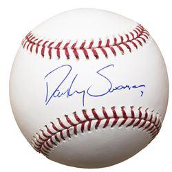 Dansby Swanson Signed OML Baseball (Beckett COA)