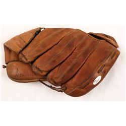 """Don Richie Ashburn Signed Vintage MacGregor Baseball Glove Inscribed """"HOF 95"""" (JSA Hologram)"""