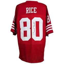 Jerry Rice Signed San Francisco 49ers Jersey (TriStar Hologram)