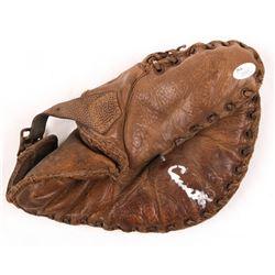 Phil Cavarretta Signed Vintage Baseball Glove (JSA COA)