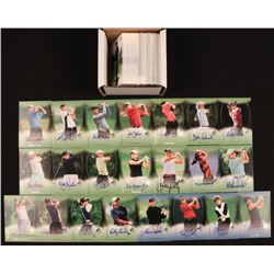 2004 SP Authentic Complete Set of (112) Golf Cards with #110 Ben Curtis RC, #111 Dottie Pepper RC, #