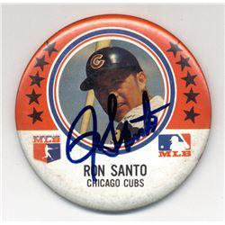Ron Santo Signed Cubs 1969 MLB Pin (JSA COA)