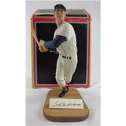 Ted Williams Signed LE Red Sox Gartlan Figurine (Gartlan COA)