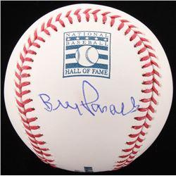 Bill Parcells Signed OML Hall of Fame Logo Baseball (JSA COA)