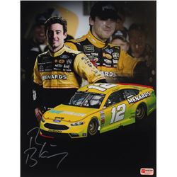 Ryan Blaney Signed NASCAR #12 11x14 Photo (PA COA)