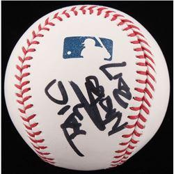 "Nicko McBrain Signed OML Baseball Inscribed ""2017"" (JSA COA)"