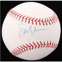 Spike Lee Signed OML Baseball (PSA COA)