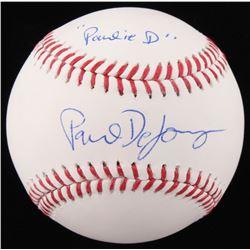 "Paul DeJong Signed OML Baseball Inscribed ""Pauly D"" (JSA COA)"