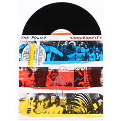 """Andy Summers Signed The Police """"Synchronicity"""" Vinyl Record Album (JSA Hologram)"""