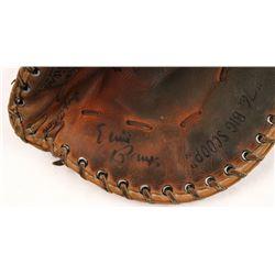 Ernie Banks Signed Vintage Wilson Baseball Glove (JSA Hologram)