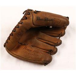Robin Roberts Signed Vintage Baseball Glove (JSA Hologram)
