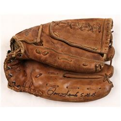 """Ron Santo Signed Vintage Baseball Glove Inscribed """"5 G.G."""" (JSA Hologram)"""