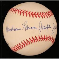 """Ransom Joseph """"Randy"""" Jackson Jr. Signed ONL Baseball (JSA Hologram)"""