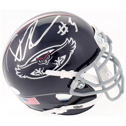 Devin Singletary Signed FAU Owls Mini-Helmet (JSA COA)