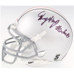 "Dwayne Haskins Signed Ohio State Buckeyes Mini-Helmet Inscribed ""#Go Bucks"" (JSA COA)"