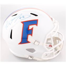 Keanu Neal Signed Florida Gators Full-Size Speed Helmet (Radtke COA)