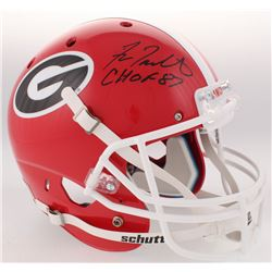 "Fran Tarkenton Signed Georgia Bulldogs Full-Size Helmet Inscribed ""CHOF 87"" (Radke COA)"