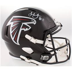 Julio Jones Signed Falcons Full-Size Speed Helmet (Radtke COA)