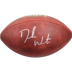 Deshaun Watson Signed NFL Football (Steiner Hologram)