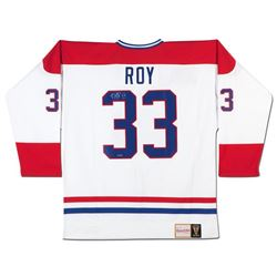 Patrick Roy Signed Canadiens Jersey  (UDA COA)