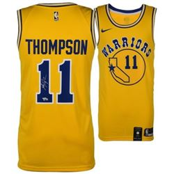 Klay Thompson Signed Warriors Nike Jersey (Fanatics Hologram)