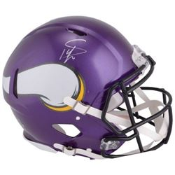 Stefon Diggs Signed Vikings Full-Size Authentic On-Field Speed Helmet (Fanatics Hologram)