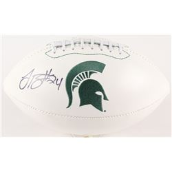 Le'Veon Bell Signed Michigan State Spartans Logo Football (Radtke COA)