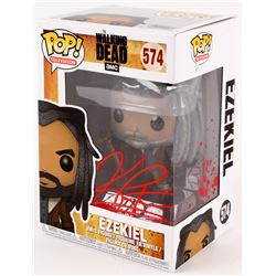 "Khary Payton Signed ""The Walking Dead"" Ezekiel #574 Funko Pop! Vinyl Figure (Radtke COA)"