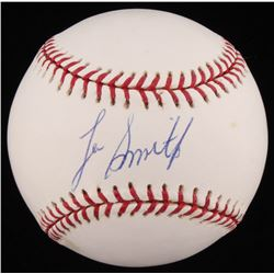 Lee Smith Signed OML Baseball (JSA COA)