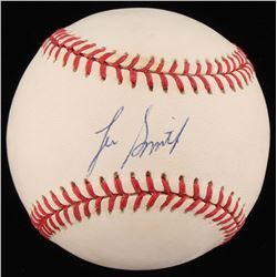 Lee Smith Signed ONL Baseball (JSA COA)