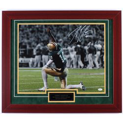 Robert Griffin III Signed Baylor Bears 23.5x27.5 Custom Framed Photo Display (JSA COA)