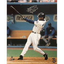 "Ken Griffey Jr. Signed Mariners 16x20 Photo Inscribed ""HOF 16"" (MLB)"
