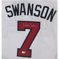 Dansby Swanson Signed Braves Jersey (MLB)