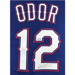 Rougned Odor Signed Rangers Jersey (MLB)