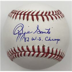 """Ozzie Smith Signed Baseball Inscribed """"82 WS Champs"""" (MLB)"""