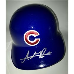 Addison Russell Signed Cubs Full-Size Batting Helmet (MLB)