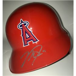 Mike Trout Signed Angels Full-Size Batting Helmet (MLB)