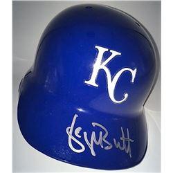 George Brett Signed Royals Full Size Batting Helmet (MLB)