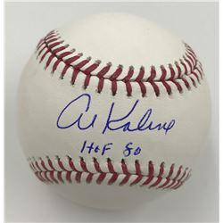 "Al Kaline Signed Baseball Inscribed ""HOF 80"" (MLB)"
