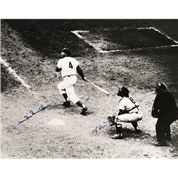 Yogi Berra  Duke Snider Signed 16x20 Photo (MLB)