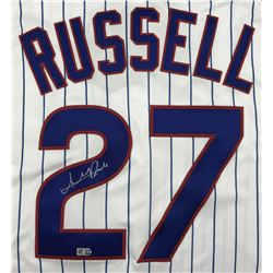Addison Russell Signed Cubs Jersey (MLB)