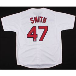 Lee Smith Signed Cardinals Jersey (JSA COA)