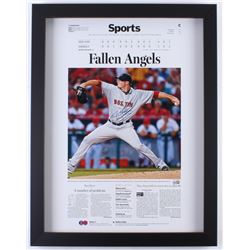 Jon Lester Signed Red Sox 20x26 Custom Framed Photo Display (MLB Hologram)