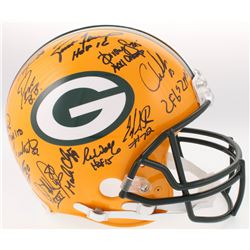 LE Super Bowl XXXI Champions Packers Full-Size Authentic On-Field Helmet Team-Signed by (23) With Br