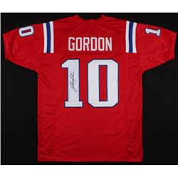 Josh Gordon Signed Patriots Jersey (JSA Hologram)