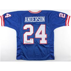 Ottis Anderson Signed Giants Throwback Jersey (Gridiron Legends COA)