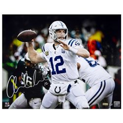 "Andrew Luck Signed Colts ""12"" 16x20 Limited Edition Photo (Panini COA)"